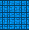 metalic blue industrial texture for creative vector image vector image
