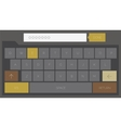 Trendy mobile keyboard