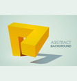 abstract web business template vector image vector image