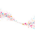 Background with color drops vector image