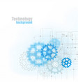 blue abstract technology background with