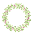 Circle cute hand drawn frames on the white vector image vector image