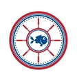 Fish symbol isolated
