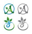 life healt logo vector image