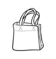 shopping bag vector image vector image