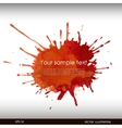splash watercolor banner vector image vector image