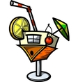 Cocktail House vector image