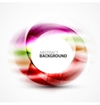 abstract blurred swirl vector image vector image