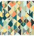 Abstract colored background triangle design vector image vector image