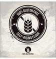 alternative gluten free stamp vector image vector image