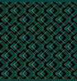 art deco squares pattern vector image vector image