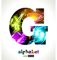 Design Abstract Letter G vector image vector image