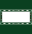festive rectangle template frame banner billboard