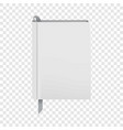 one diary icon realistic style vector image vector image