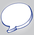 speech Bubble 2 vector image vector image