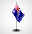 Table flag of Australia vector image vector image