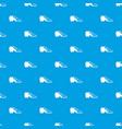 tango shoe pattern seamless blue vector image vector image