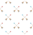 Arrow icon cartoon pattern gay icon from the big vector image