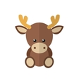 a moose vector image