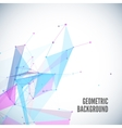 abstract geometric background with circles lines