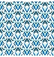 Blue art deco pattern vector image vector image