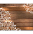 Floral Decorations for beautiful Holiday design vector image