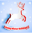 happy holiday background vector image vector image