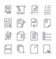 Paper icons document icons eps10 icon