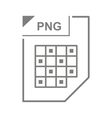 PNG file icon cartoon style vector image vector image
