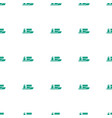 ship icon pattern seamless white background vector image vector image