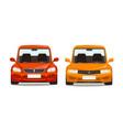 sports car race concept cartoon vector image vector image