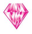 isolated diamond icon vector image
