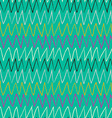 Doodle abstract pattern with zigzag Blue backdrop vector image vector image