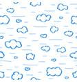 doodle heaven 5 vector image vector image