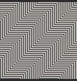 geometric zigzag lines seamless pattern trendy vector image vector image
