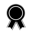 medal price winner award vector image