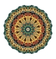 Oriental mandala Ornamental circle pattern vector image