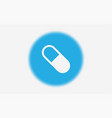 pill icon sign symbol vector image