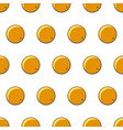 seamless orange pattern vector image