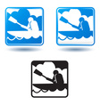 Tourism and active lifestyle vector image