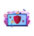 antivirus software concept