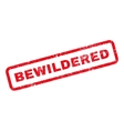 Bewildered Text Rubber Stamp vector image vector image
