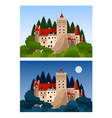 castle of dracula vector image
