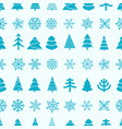 christmas seamless background merry christmas and vector image vector image