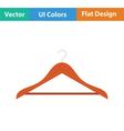 Cloth hanger icon vector image vector image