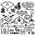 design elements set 11 vector image vector image
