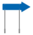yellow road sign triangular traffic symbol vector image
