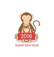 Funny chimpanzees vector image