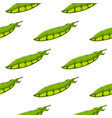 green peas hand drawn sketch seamless pattern vector image