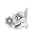 giant of thailand art design vector image